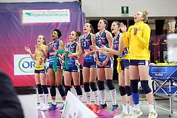 CONEGLIANO ESULTA<br /> FINAL FOUR COPPA ITALIA PALLAVOLO FEMMINILE<br /> RIMINI 14-03-2021<br /> FOTO FILIPPO RUBIN / LVF