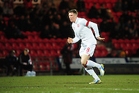England's John Lundstram ..Football - U19 International Friendly - England v Denmark - Tuesday 5th February 2013 - Keepmoat Stadium - Doncaster..