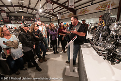 Passion Built exhibition in the Buffalo Chip's Motorcycles as Art gallery during the 78th annual Sturgis Motorcycle Rally. Sturgis, SD. USA. Sunday August 5, 2018. Photography ©2018 Michael Lichter.