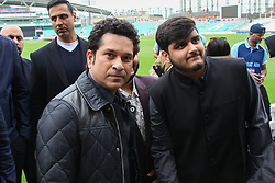 May 6, 2017 - London, London, United Kingdom - Image ©Licensed to i-Images Picture Agency. 06/05/2017. London, United Kingdom. Photocall with Indian cricketer Sachin Tendulkar. Sachin Tendulkar. Photocallwith thelegendary cricketer,Sachin Tendulkar at Kia Oval, for the upcoming release of his film,Sachin: A Billion Dreams.The film follows Sachin Tendulkar's journey from a young boy to one of the most celebrated sportsman of all time, releases on May 26th. Directed by award-winning filmmaker James Erskine, this film allows fans to walk into the Master Blaster's life and also feature India. Picture by Dinendra Haria / i-Images (Credit Image: © Dinendra Haria/i-Images via ZUMA Press)
