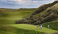 PORTSTEWART - Tee hole 9. PortStewart Golf Club. Copyright KOEN SUYK