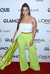Ashley Graham attends the 2018 Glamour Women of the Year Awards at Spring Studios in New York