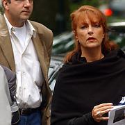 NLD/Laren/2005005 - Begrafenis Roy Beltman, Lisa Boray en partner