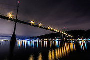 St Johns Bridge in Portland, OR. Dec 21, 2013. Photo by Mick Orlosky/Redfishingboat