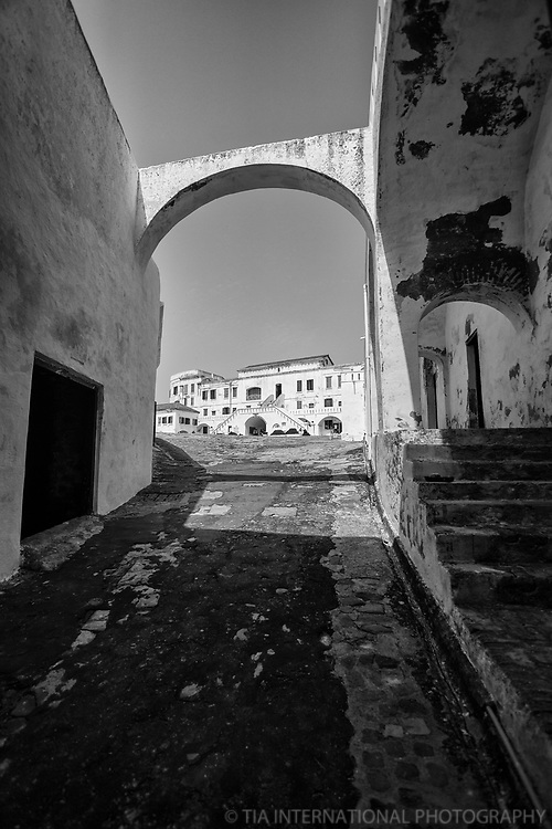 Archway & Alley, Cape Coast Castle