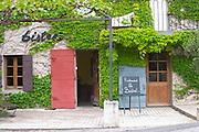 restaurant le bistrot crozes hermitage rhone france