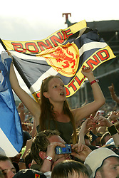 Feeder on main stage, Sunday at T in the Park, 2003..Pic ©2010 Michael Schofield. All Rights Reserved.