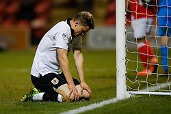 Matt Smith of Bristol City looks dejected - Photo mandatory by-line: Rogan Thomson/JMP - 07966 386802 - 20/12/2014 - SPORT - FOOTBALL - Crewe, England - Alexandra Stadium - Crewe Alexandra v Bristol City - Sky Bet League 1.