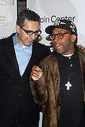 l to r: John Tutturro and Spike Lee  at The ImageNation celebration for the 20th Anniversary of ' Do the Right Thing' held Lincoln Center Walter Reade Theater on February 26, 2009 in New York City. ..Founded in 1997 by Moikgantsi Kgama, who shares executive duties with her husband, Event Producer Gregory Gates, ImageNation distinguishes itself by screening works that highlight and empower people from the African Diaspora.