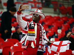 November 10, 2017 - London, England, United Kingdom - England Fans..during International Friendly match between England  and Germany  at Wembley stadium, London  on 10 Nov  , 2017 ..during International Friendly match between England  and Germany  at Wembley stadium, London  on 10 Nov  , 2017  (Credit Image: © Kieran Galvin/NurPhoto via ZUMA Press)