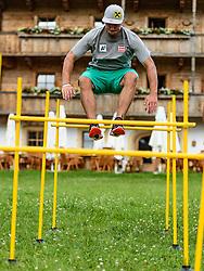 06.06.2017, Bio Hotel Stanglwirt, Going, AUT, OeSV Training, Herren Speed Team, Pressetermin, Training, im Bild Max Franz // Max Franz of Austria during a Trainingsession of men's speed Ski Team of Austrian Ski Federation (OeSV) at the Bio Hotel Stanglwirt in Going, Austria on 2017/06/06. EXPA Pictures © 2017, PhotoCredit: EXPA/ Stefan Adelsberger