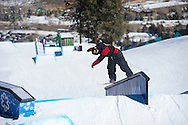 Torstein Horgmo during Snowboard Slopestyle Eliminations at 2014 X Games Aspen at Buttermilk Mountain in Aspen, CO. ©Brett Wilhelm/ESPN