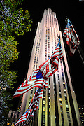 Rockefeller Centre building on Fifth Avenue, Manhattan, New York City, New York, United States of America, North America