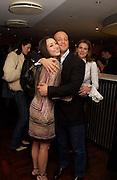 "Tamara Mellon, Glenn Spiro and Brooke de Campo,  Launch Party Matthew Mellon's ""Harry's of London"" A New Line Of Men's Shoes. December 1, 2003 - Harvey Nichols. London, <br />© Copyright Photograph by Dafydd Jones 66 Stockwell Park Rd. London SW9 0DA Tel 020 7733 0108 www.dafjones.com"