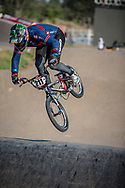 #211 (EVANS Kyle) GBR during practice at Round 9 of the 2019 UCI BMX Supercross World Cup in Santiago del Estero, Argentina