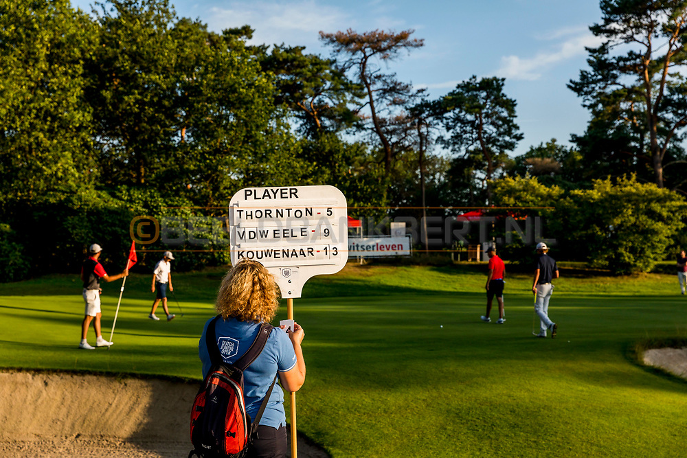 20-07-2019 Pictures of the final day of the Zwitserleven Dutch Junior Open at the Toxandria Golf Club in The Netherlands.<br /> 18th hole, final flight