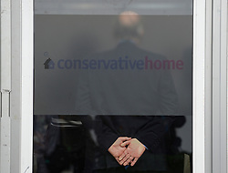 Despite fears the conference may be limited, events, including this one at the Conservative Home marquee, have seen standing room only.<br /> <br /> © Dave Johnston / EEm