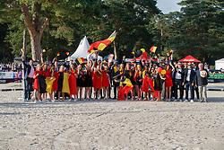 Team Belgium<br /> European Championship Children, Juniors, Young Riders - Fontainebleau 1028<br /> © Hippo Foto - Dirk Caremans<br /> Team Belgium