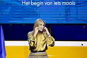 AMSTERDAM, 23-11-2020, De Kromhouthal<br /> <br /> Koningin Máxima reikt in Amsterdam de Prins Bernhard Cultuurfonds Prijs 2020 uit aan ISH Dance Collective. Het Cultuurfonds kent deze oeuvreprijs jaarlijks toe aan een persoon of instelling met een grote staat van dienst op het gebied van cultuur, natuur of wetenschap in Nederland.