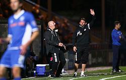 Rochdale Manager, Keith Hill reacts - Mandatory byline: Matt McNulty/JMP - 07966386802 - 29/09/2015 - FOOTBALL - Spotland Stadium -Rochdale,England - Rochdale v Shrewsbury - SkyBet League One