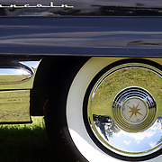 A 1956 Lincoln Premier at the Greenwich Concours d'Elegance Festival of Speed and Style featuring great classic vintage cars. Roger Sherman Baldwin Park, Greenwich, Connecticut, USA.  2nd June 2012. Photo Tim Clayton