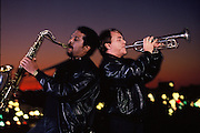 The Memphis Horns, Andrew Love and Wayne Jackson. Andrew passed away from Alzheimers disease. Wayne still lives in Memphis.
