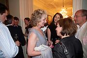 HARRIET SERGEANT; NIGELLA LAWSON; SARAH SANDS, Nicholas Coleridge celebrates the publication of his novel; Deadly Sins. Dartmouth House, Charles St. London. 28 April 2009