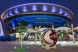 15-01-2015 QAT: IHF Handball World Championship, Doha<br /> Bild die Arena // during the IHF Handball World Championship at the Ali Bin Hamad Al Attiyah Arena, Doha, Qatar <br /> ***NETHERLANDS ONLY***