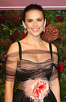 Hayley Atwell, Evening Standard Theatre Awards, London Coliseum, London, UK, 24 November 2019, Photo by Richard Goldschmidt