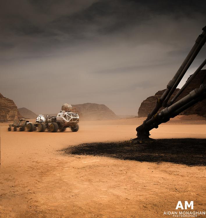 The Martian. Mars Ascent Vehicle (MAV).