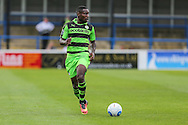 Forest Green Rovers Dale Bennett (6) runs with the ball during the Vanarama National League match between Dover Athletic and Forest Green Rovers at Crabble Athletic Ground, Dover, United Kingdom on 10 September 2016. Photo by Shane Healey.