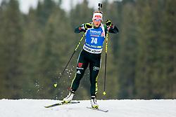 Nadine Horchler (GER) during Women 15km Individual at day 5 of IBU Biathlon World Cup 2018/19 Pokljuka, on December 6, 2018 in Rudno polje, Pokljuka, Pokljuka, Slovenia. Photo by Ziga Zupan / Sportida