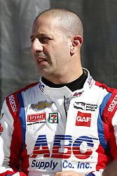 February 8, 2018 - Avondale, Arizona, United States of America - February 08, 2018 - Avondale, Arizona, USA: Tony Kanaan (14) hangs out on pit road during the Prix View at ISM Raceway in Avondale, Arizona. (Credit Image: © Justin R. Noe Asp Inc/ASP via ZUMA Wire)