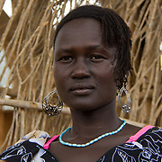Chorister from Dadaab's Gambela community. These refugees from Ethiopia are now part of the Christian minority among Dadaab's largely Muslim population. North Eastern Province, Kenya.
