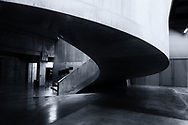 Staircase in the Tate Modern in London England