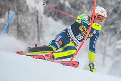 Mattias Hargin (SWE) during 1st run of Men's Slalom race of FIS Alpine Ski World Cup 57th Vitranc Cup 2018, on March 4, 2018 in Kranjska Gora, Slovenia. Photo by Ziga Zupan / Sportida