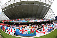 Wales fans. UEFA Euro 2016, group B , England v Wales at Stade Bollaert -Delelis  in Lens, France on Thursday 16th June 2016, pic by  Andrew Orchard, Andrew Orchard sports photography.