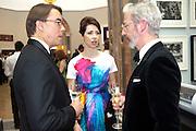 WILLIAM KERR; HELENA MORRISEY; RICHARD MORRISEY, Royal Academy of Arts Annual dinner. Royal Academy. Piccadilly. London. 1 June <br /> <br />  , -DO NOT ARCHIVE-© Copyright Photograph by Dafydd Jones. 248 Clapham Rd. London SW9 0PZ. Tel 0207 820 0771. www.dafjones.com.
