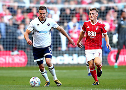 Jed Wallace of Millwall goes past Ben Osborn of Nottingham Forest - Mandatory by-line: Robbie Stephenson/JMP - 04/08/2017 - FOOTBALL - The City Ground - Nottingham, England - Nottingham Forest v Millwall - Sky Bet Championship