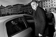 Enrico Rossi, presidente della Regione Toscana e candidato alle regionali 2014 con il PD, alla fine del comizio tenutosi Livorno in Piazza del Logo Pio.<br /> 25 novembre 2014 . Daniele Stefanini /  OneShot