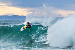 Jordy Smith (ZAF) will surf in Round 2 of the 2018 Corona Open J-Bay after placing second in Heat 1 of Round 1 at Supertubes, Jeffreys Bay, South Africa.