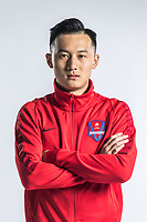 **EXCLUSIVE**Portrait of Chinese soccer player Feng Jing of Chongqing Dangdai Lifan F.C. SWM Team for the 2018 Chinese Football Association Super League, in Chongqing, China, 27 February 2018.