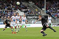 Fotball , 18. june 2017 , Eliteserien, Haugesund - Rosenborg.<br />Nicklas Bendtner fra Rosenborg i aksjon mot Haugesund.<br />Foto: Andrew Halseid Budd , Digitalsport
