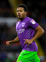 "Bristol City's Korey Smith during the Sky Bet Championship match at Bramall Lane, Sheffield. PRESS ASSOCIATION Photo. Picture date: Friday December 8, 2017. See PA story SOCCER Sheff Utd. Photo credit should read: Mike Egerton/PA Wire. RESTRICTIONS: EDITORIAL USE ONLY No use with unauthorised audio, video, data, fixture lists, club/league logos or ""live"" services. Online in-match use limited to 75 images, no video emulation. No use in betting, games or single club/league/player publications."