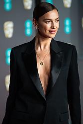Irina Shayk attending 72nd British Academy Film Awards, Arrivals, Royal Albert Hall, London. 10th February 2019
