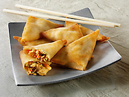 Traditional chinese samosas
