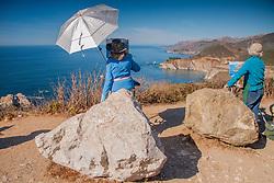 Plein-Air Painters, Big Sur, California, US