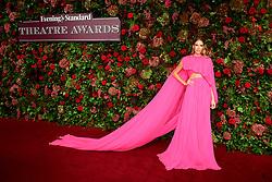 Elena Perminova attending the Evening Standard Theatre Awards 2018 at the Theatre Royal, Drury Lane in Covent Garden, London.