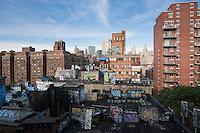 view from manhattan bridge - New York City in October 2008