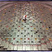 04-03-1996-Oekraine, Tsjernobyl de kern van de centrale met de splijtstaven van reactor No. 3.<br />Foto: Sake Elzinga/Hollandse Hoogte